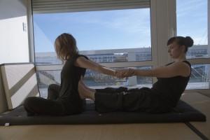 massage thaï étirement du dos