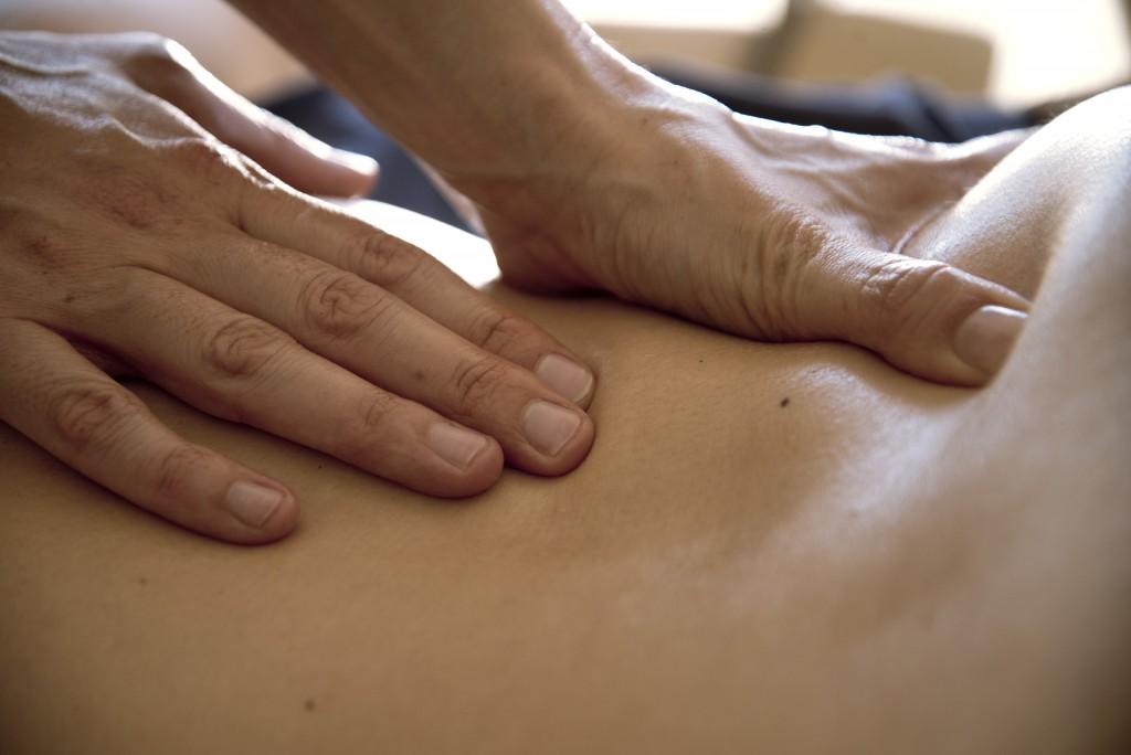 massage profond dos
