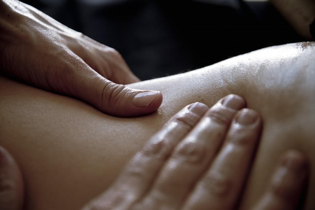 massage à l'huile détente